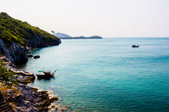 Insel-Si Chang Thailand schön Sand und Meer Stockbild