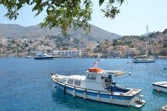 Insel Simy in Griechenland Lizenzfreie Stockbilder