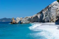 Insel Skiathos Griechenland lalaria Lizenzfreies Stockfoto