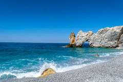 Insel Skiathos Griechenland lalaria Lizenzfreie Stockfotografie
