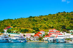 Insel St. Barths Lizenzfreies Stockfoto