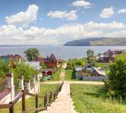 Insel-Stadt Sviyazhsk Kazan, Russland stockbild