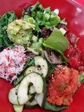 Insel-Stoß-Salat lizenzfreie stockfotografie