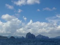 Insel-Szene Stockfotografie