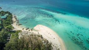 Insel Vogelperspektive Ko Lipe Lizenzfreie Stockfotografie