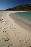 Insel von Barra Beach Stockfotografie