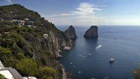 Insel von Capri Stockbild