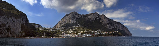 Insel von Capri 2 Lizenzfreies Stockfoto