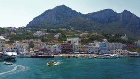 Insel von Capri, Italien lizenzfreie stockbilder