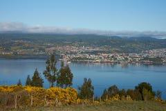 Insel von Chiloe stockfoto