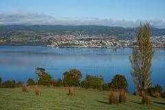 Insel von Chiloe stockfotografie