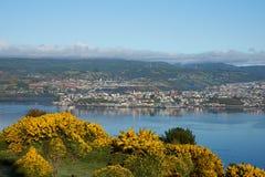 Insel von Chiloe stockbilder