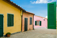 Insel von Elba, Capoliveri lizenzfreies stockfoto