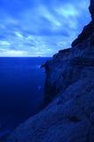 Insel von Filfla außerhalb Maltas Stockbilder