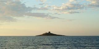 Insel von Frauen stockfotos