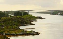 Insel von Hitra, Norwegen lizenzfreies stockfoto