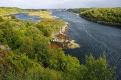Insel von Hitra, Norwegen lizenzfreie stockbilder