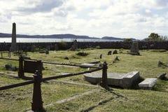 Insel von Ionas Friedhof von Königen Stockfotografie