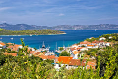 Insel von Iz in Kroatien Lizenzfreies Stockfoto
