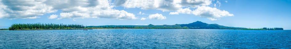 Insel von Kiefern Stockfotografie