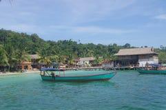 Insel von Koh Rong stockfotos
