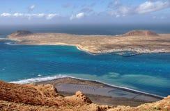 Insel von La Graciosa Stockfotos