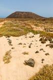 Insel von Lobos in Fuerteventura lizenzfreie stockbilder