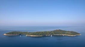Insel von Lokrum Stockfotos