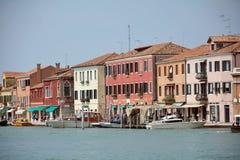 Insel von Murano in der Lagune von Venedig - Italien Stockfoto