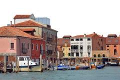 Insel von Murano in der Lagune von Venedig - Italien Lizenzfreie Stockfotos