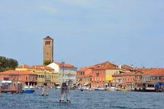 Insel von Murano in der Lagune von Venedig - Italien Lizenzfreies Stockbild