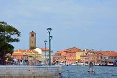 Insel von Murano in der Lagune von Venedig - Italien Lizenzfreie Stockbilder
