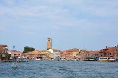 Insel von Murano in der Lagune von Venedig - Italien Stockfotos