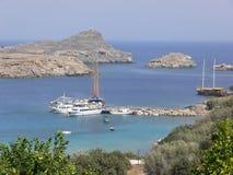 Insel von Mykonos. Stockbilder