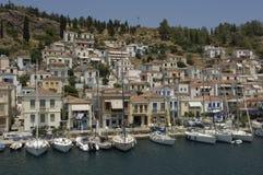 Insel von Poros stockbilder