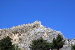 Insel von Rhodos Griechenland lizenzfreie stockbilder