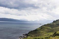 Insel von Skye-Meerblick Stockfoto