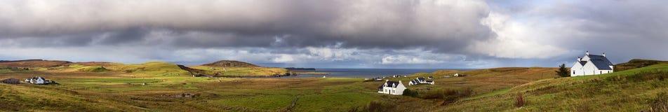 Insel von Skye-pano Stockfotografie
