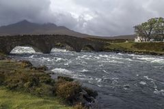 Insel von Skye - Schottland lizenzfreie stockfotografie