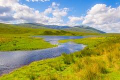 Insel von Skye in Schottland stockfotos