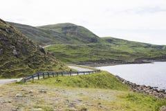 Insel von Skye, Schottland Stockbild