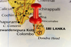 Insel von Sri Lanka, Stift von Colombo Lizenzfreies Stockfoto