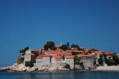Insel von St. Stefan (Budva, Montenegro) Lizenzfreies Stockfoto