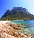 Insel von Tavolara Lizenzfreie Stockbilder