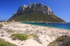 Insel von Tavolara Stockbild