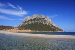 Insel von Tavolara Stockfotos