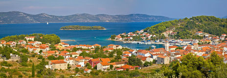 Insel von Veli Iz-Panoramablick Lizenzfreie Stockfotos