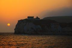 Insel von Wight Stockfotografie