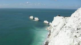 Insel von Wight, die Nadel Stockfotografie