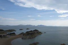 Insel Ynsy Llanddwyn lizenzfreies stockbild